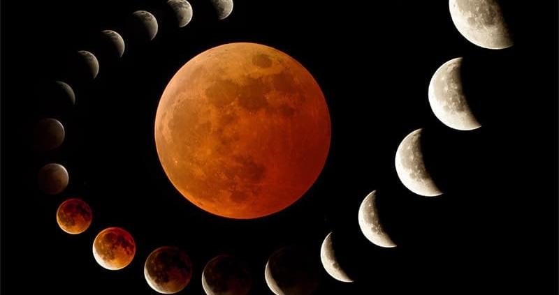 Lunar Eclipse September 27 2015 Tucson