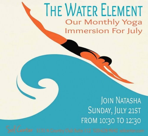 The Water Element July's Yoga Immersion