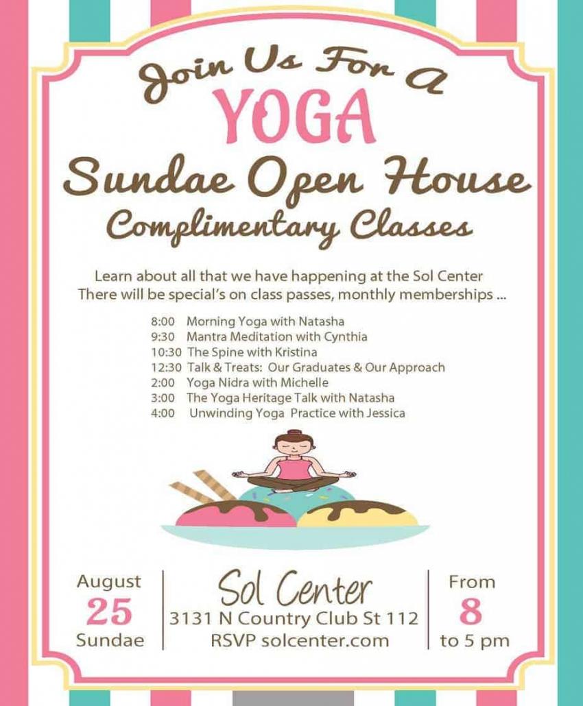 Yoga Sundae - Sol Center - Tucson