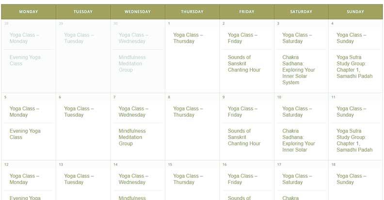 Yoga Classes Daily at the Sol Center Tucson AZ